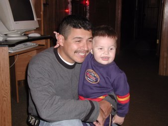 Daddy Lalo and Adrian Matthew